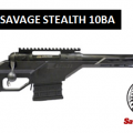 savage Stealth 10ba rifle